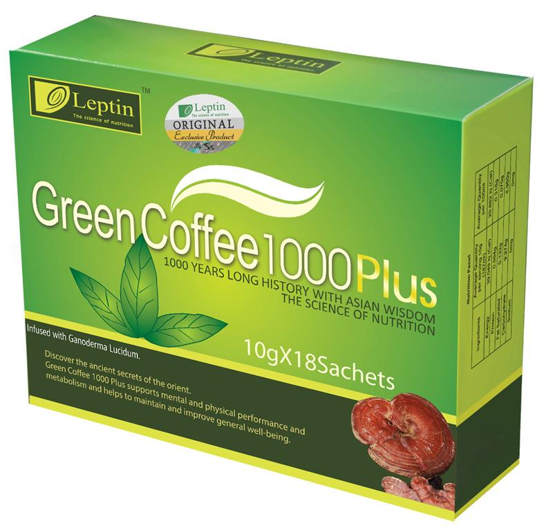 3 x Green Coffee 1000 Plus PROMOCJA