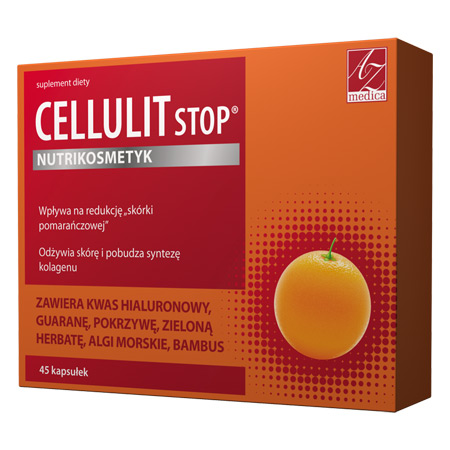 Cellulit Stop® 45 tab kwas hialuronowy